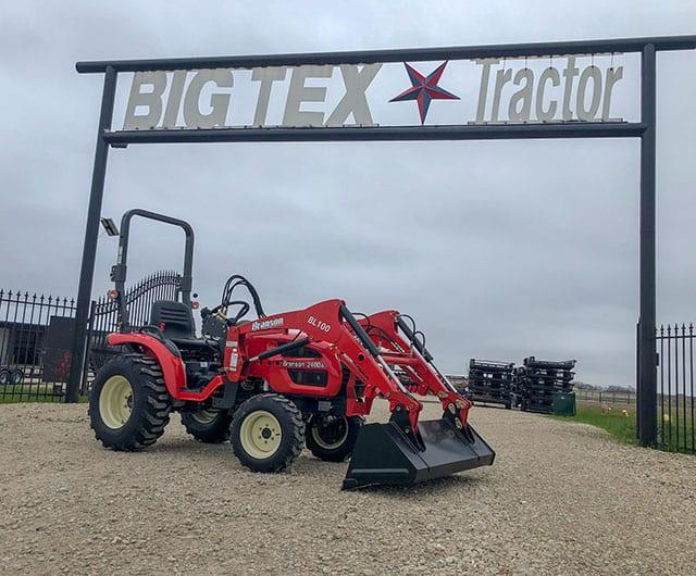 Branson 2400H Compact Garden Tractor - Big Tex Tractor