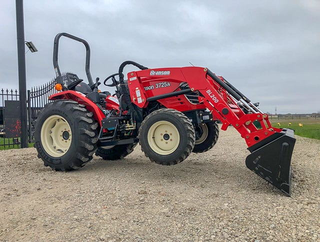 Branson 3725R 25 Series Tractor with Loader - Big Tex Tractor
