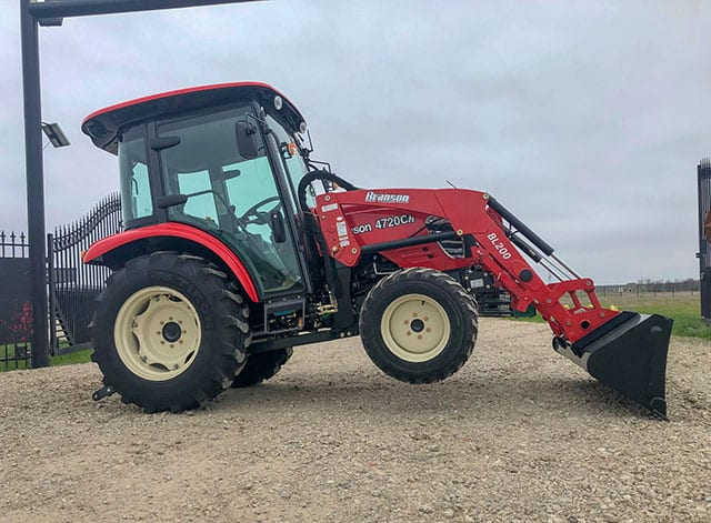 Branson 4720CH Midsize Tractor with Cab and Loader - Big Tex Tractor