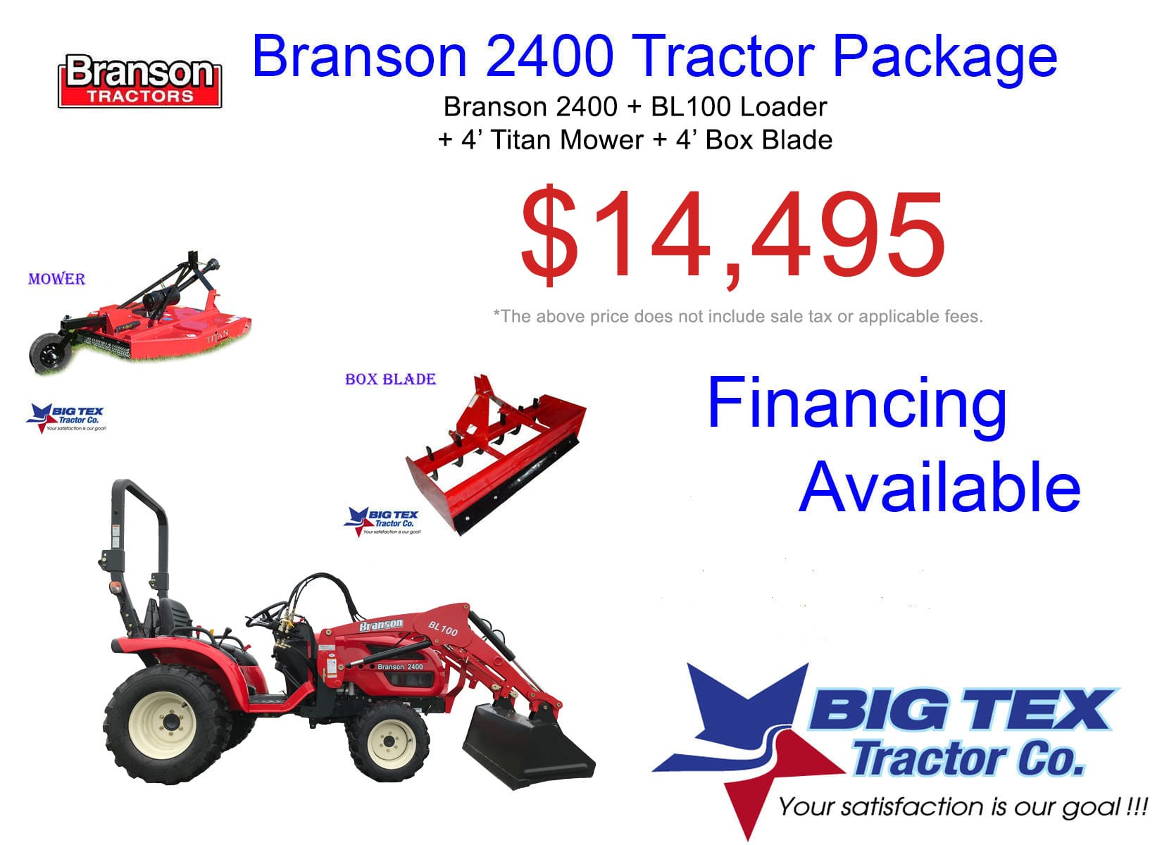 Tractors Packages Deals In Texas | Branson | Mahindra