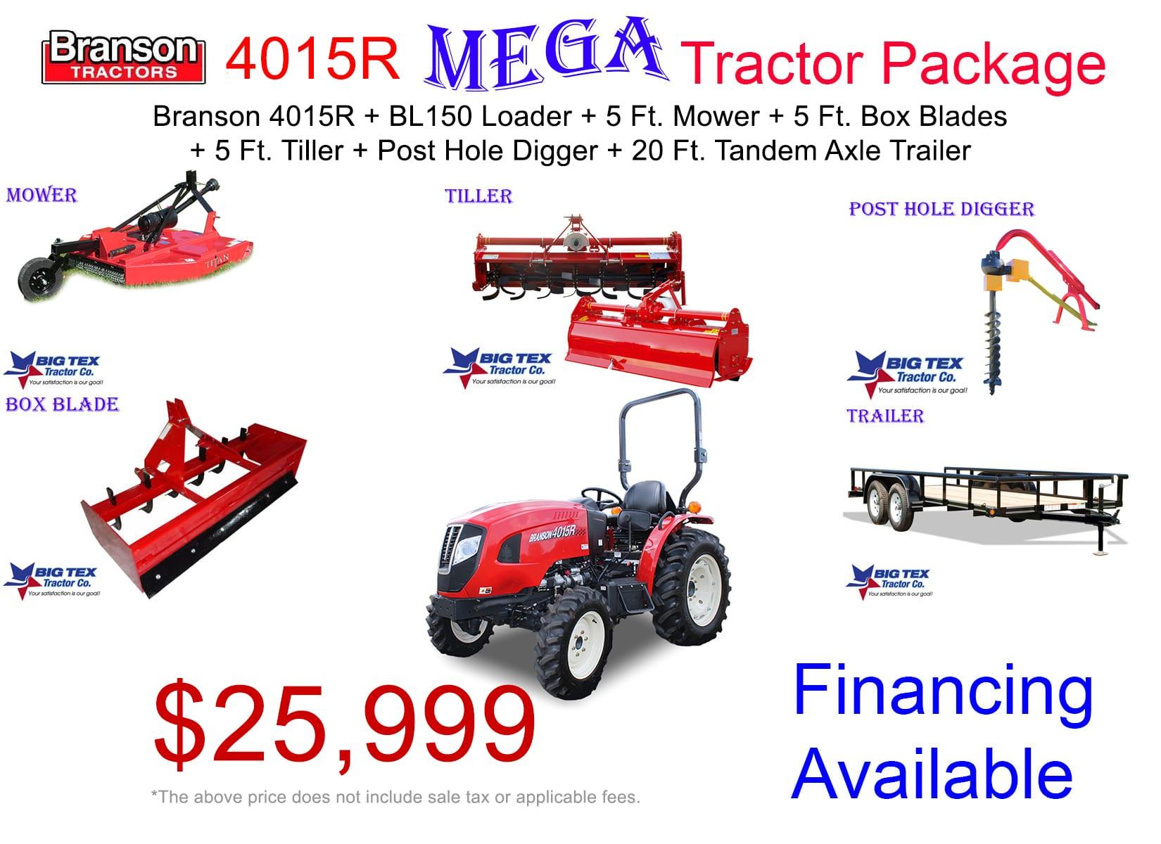 2019 - 4015R Mega T.Package