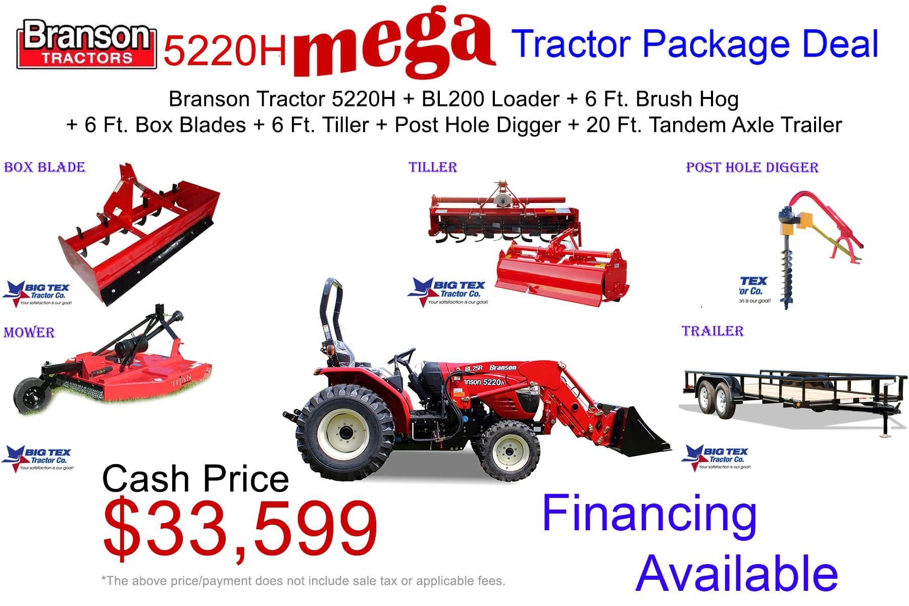 2019 - 5220H Mega T.Package
