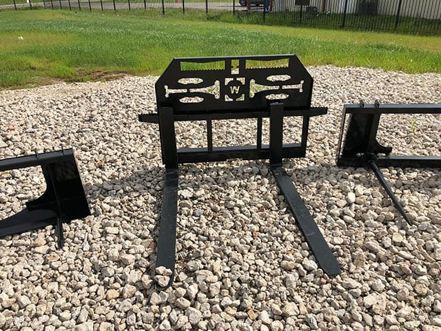 Pallet Fork - Skid Steer | Tractor Implements from Big Tex