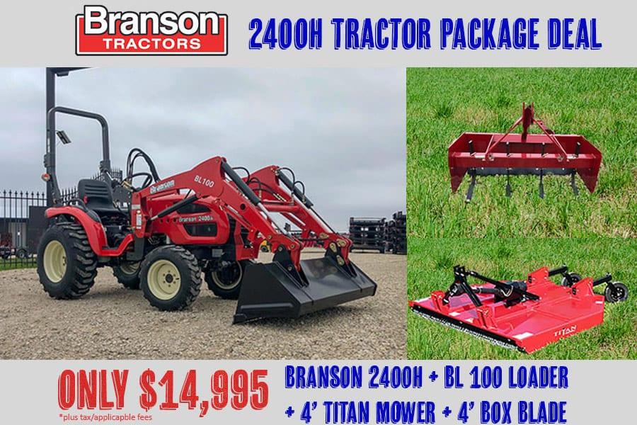 Branson Tractor Package Deals - Big Tex Tractor Co